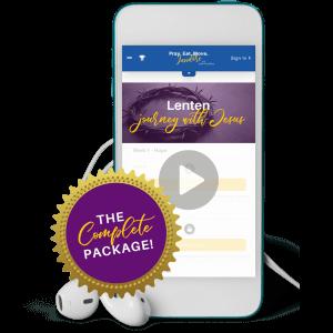 Lenten Journey with Jesus | Complete Package