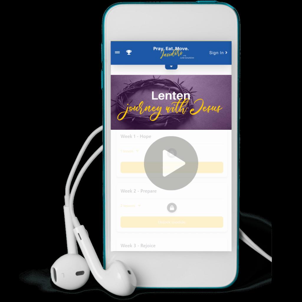 Lenten Journey With Jesus | Meditations